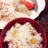 芋栗ご飯2