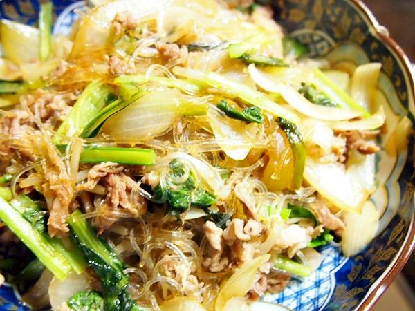 春雨野菜炒め