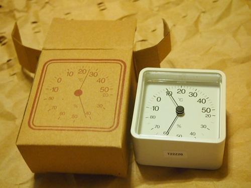 無印 温湿度計