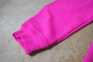 80cmチェロキーのピンクパンツ 裾